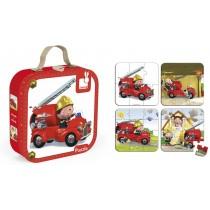 Puzzle hasičské auto
