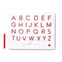 Magnetická tabulka - písmena