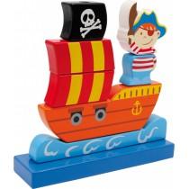Skládačka - Pirátská loď