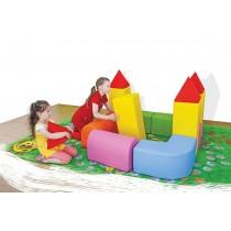 Rozkládací molitanový hrad