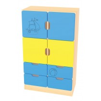 Skříňka kombinovaná