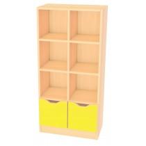 Skříňka MULTI -žlutá
