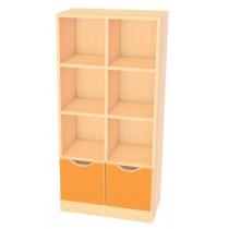 Skříňka MULTI -pomerančová