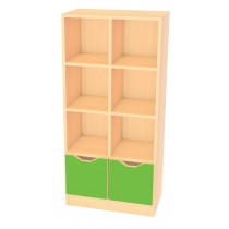 Skříňka MULTI - zelená