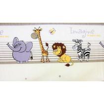 Dětské povlečení - Safari šedé