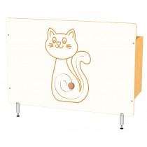 Kryt na radiátor - Kočička
