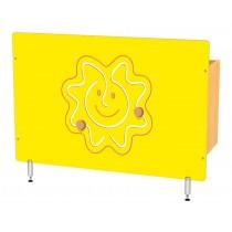 Kryt na radiátor - Sluníčko