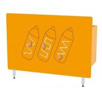 Kryt na radiátor - Barvičky