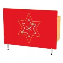 Kryt na radiátor - Hvězda
